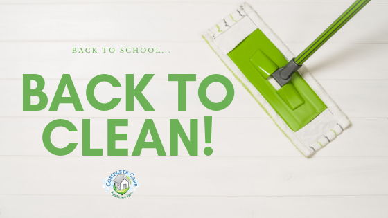 Back to School, Back to Clean!