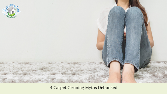 4 Carpet Cleaning Myths Debunked